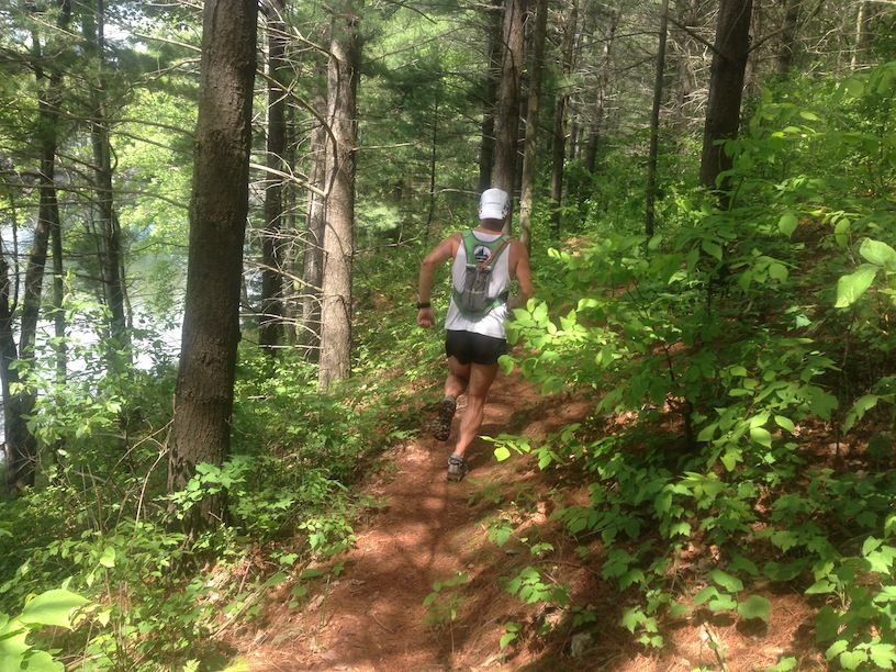 With more than 100 kilometers of trails, Frontenac Provincial Park offers a great challenge for trail runners. (Derrick Spafford)