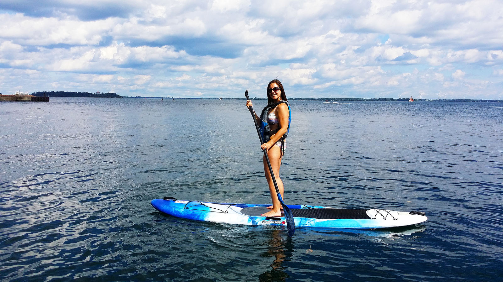 Stand Up Paddleboarding in Kingston