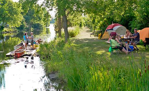 merrickville-camping-water