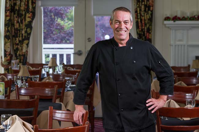 Schooled in England, Chef Nicholas has worked in Switzerland, the Caribbean, Alberta and Ottawa, including a stint at the Prime Minister's house. (Photo: The Waring House)
