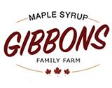 Gibbons Maple Syrup Pancake Breakfast Logo