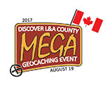 Discover L&A County MEGA Geocaching Event Logo