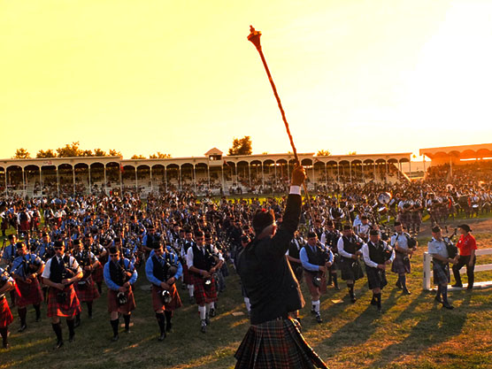 glengarry highland games feature logo
