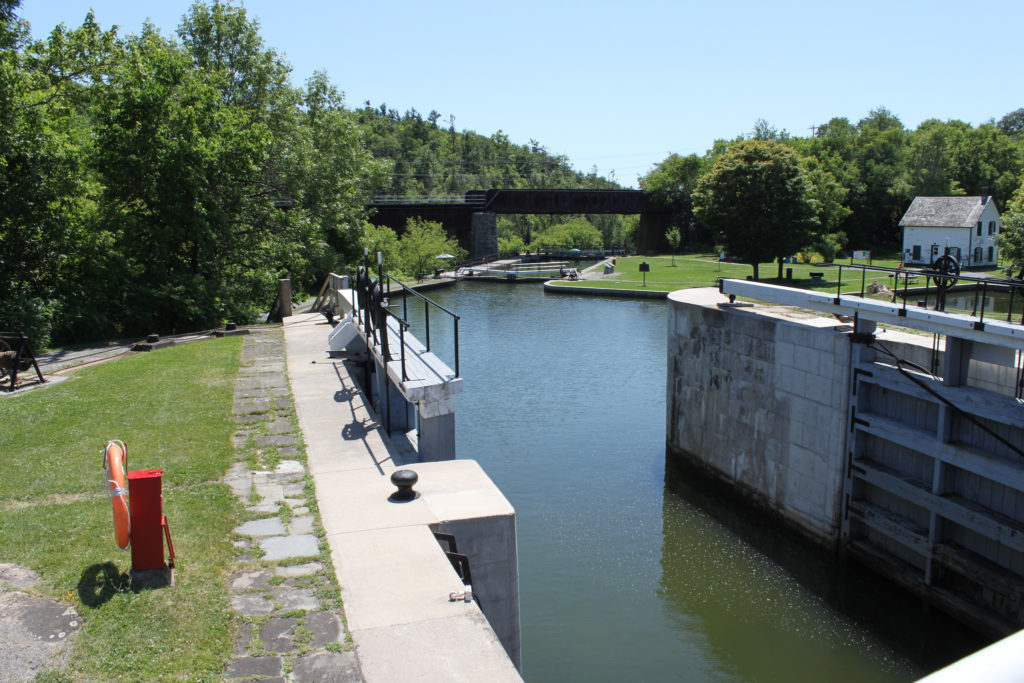 The locks at Kingston Mills. (photo: Flickr)