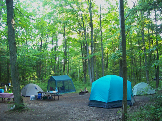 how to cancel campsite booking park canada