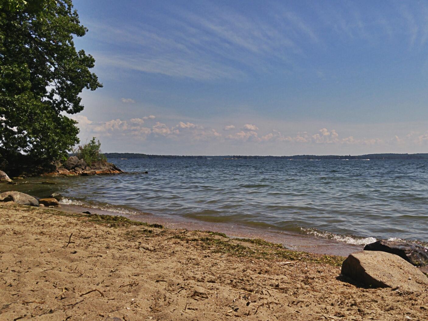 gray's beach near Gananoque
