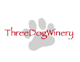 Snowshoeing at Three Dog Winery Logo