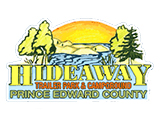 Hideaway Trailer Park & Campground Logo