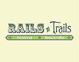 Brockville's Rails to Trails Festival Fundraiser Logo