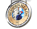 Wooden Heads Gourmet Pizza Logo