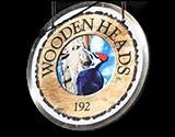 Wooden Heads Gourmet Pizza Logo
