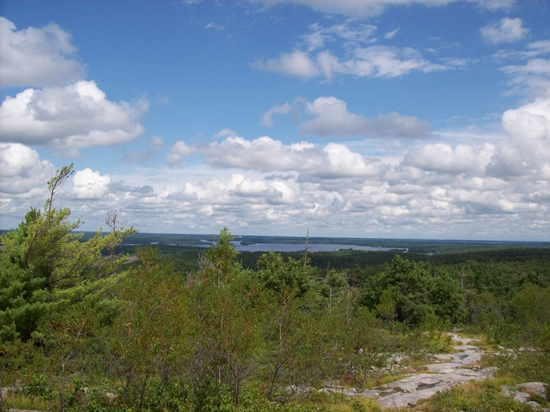 Blue Mountain lookout and trail, Charleston Lake