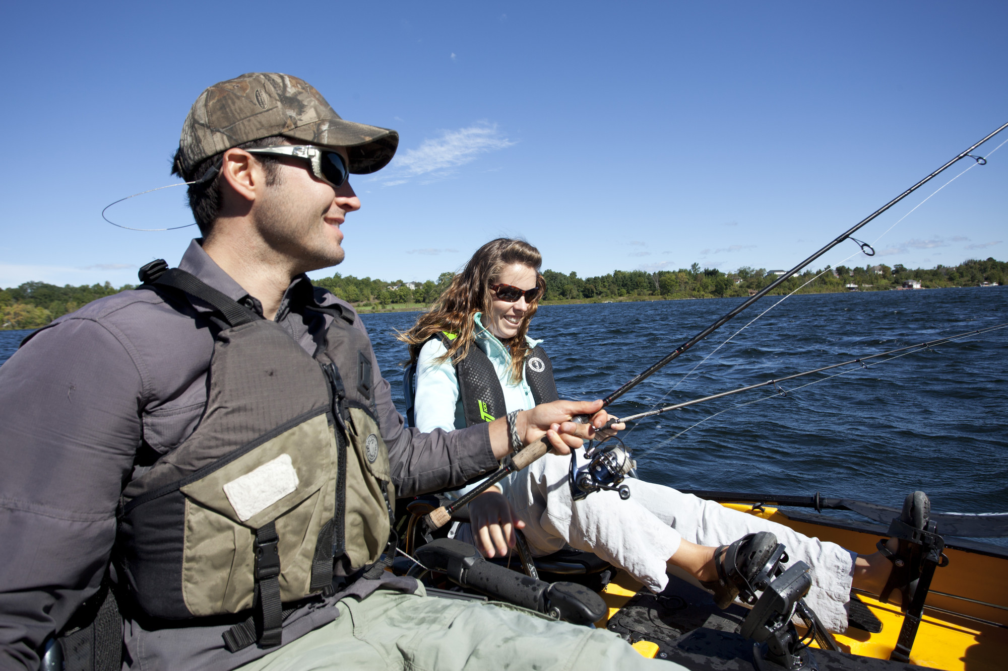 Fishing is a huge draw in the Bay of Quinte in dog days of Summer and the dead of winter. (The Great Waterway)