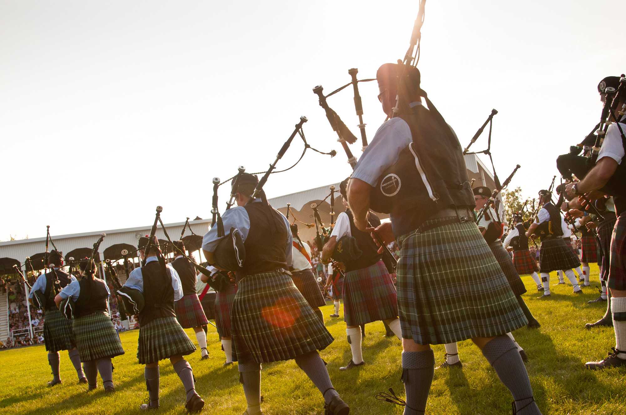 Embrace your inner Scot at the Glengarry Highland Games in Maxville, the largest of its kind outside Scotland. (The Great Waterway)