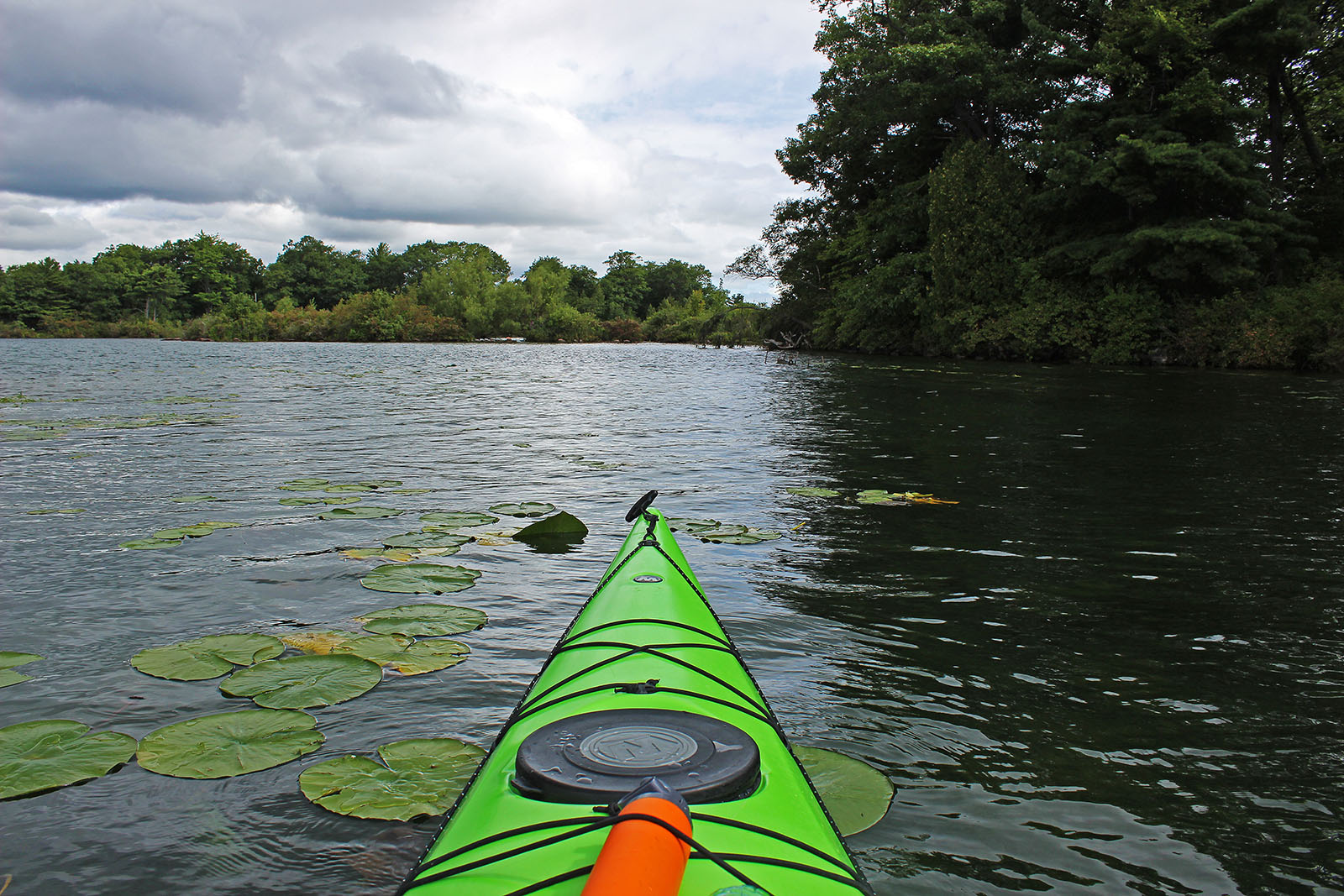 Exploring the 1000 Islands by Kayak
