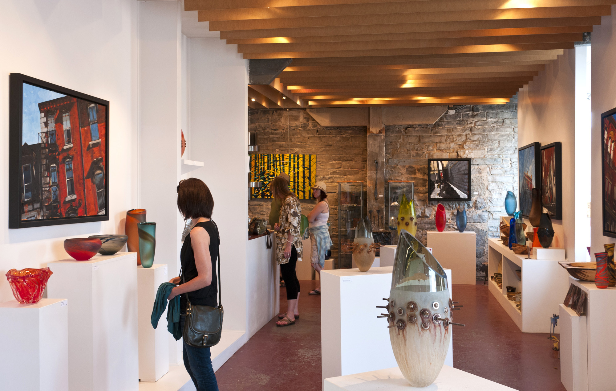 Head to Kingston Glass Studio & Gallery for mind-blowing glass-blown art and more. (The Great Waterway)