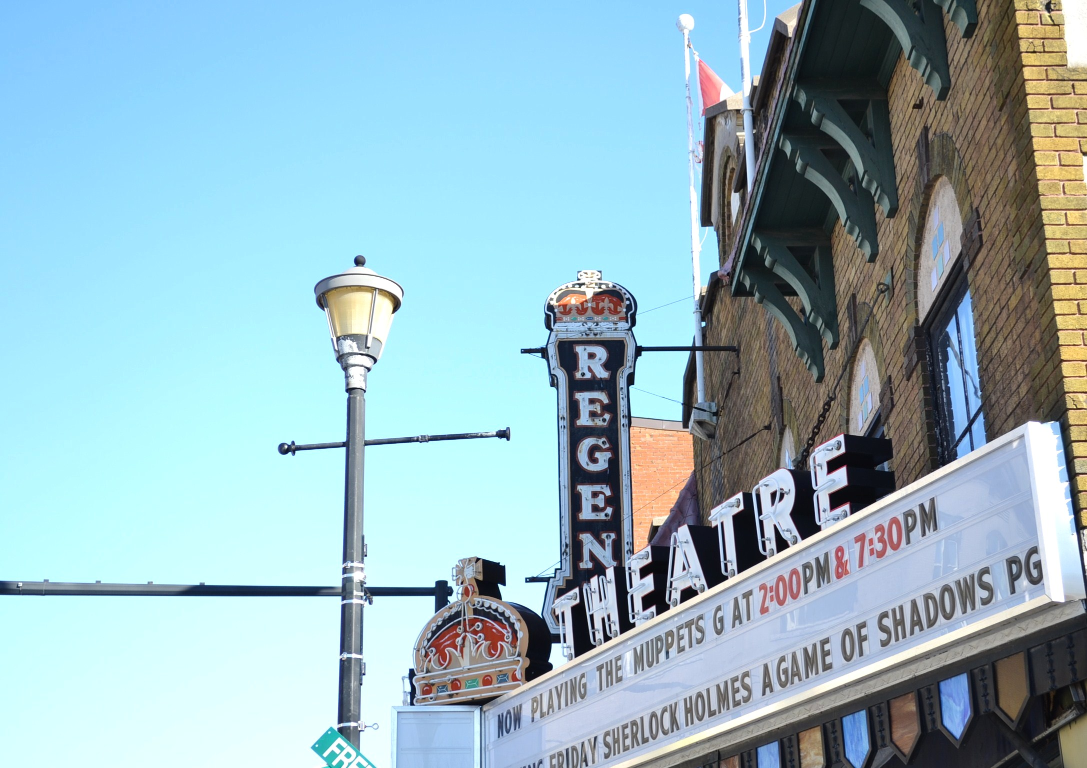 "Picton's nine-plus-decade-old Regent Theatre, aka ""The Monarch on Main Street."" (Jordan Whitehouse)"