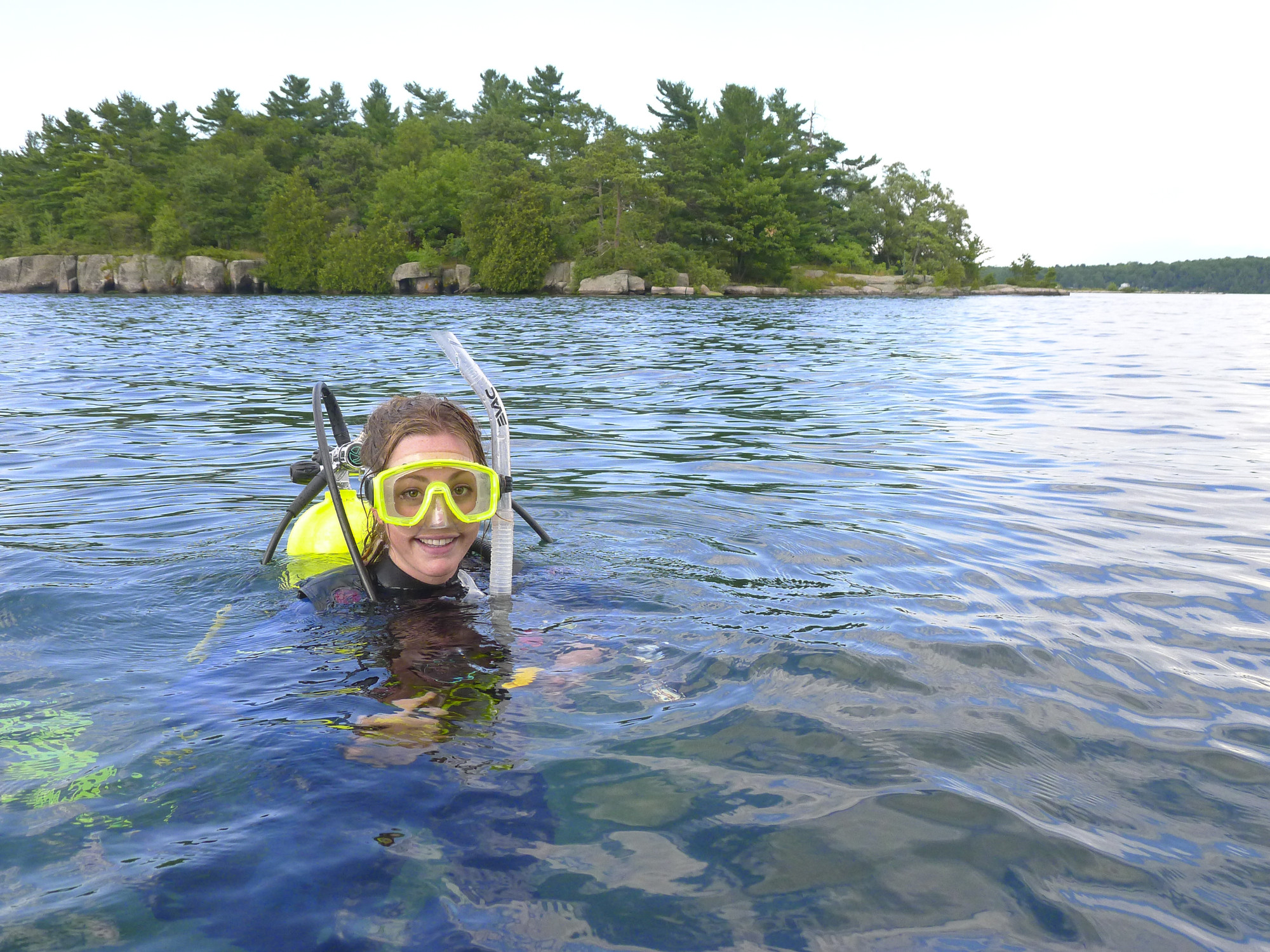 "Scuba divers call this area ""Caribbean of the North"" for how clear the waters and how many shipwrecks are found here. (The Great Waterway)"