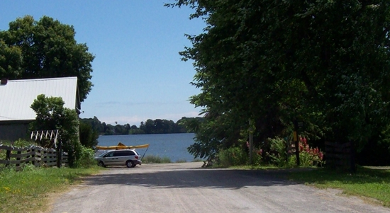 Waupoos public boat launch