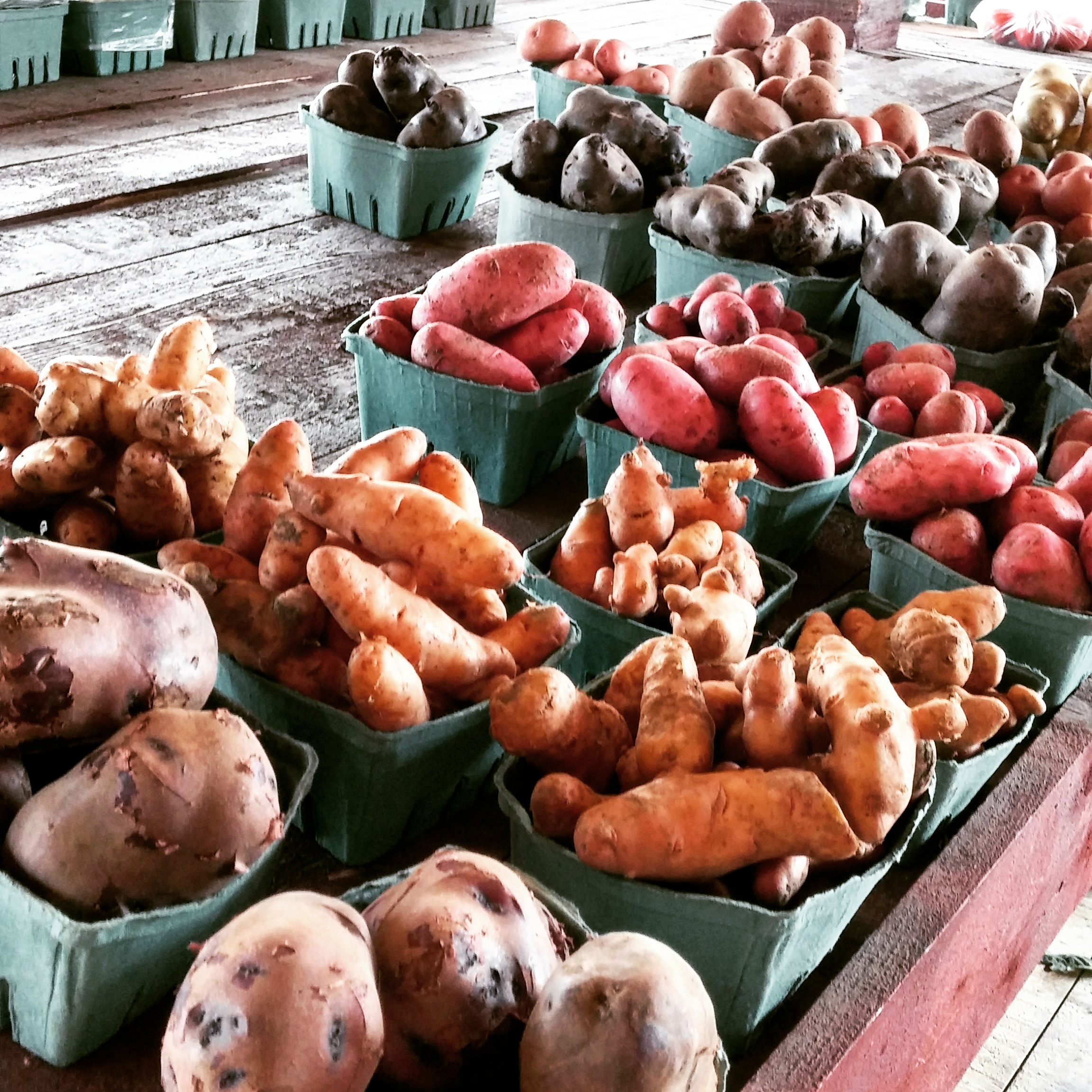 farmers' markets in The Great Waterway